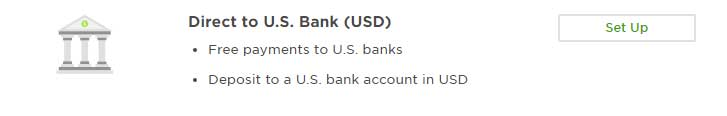 Direct to US Bank